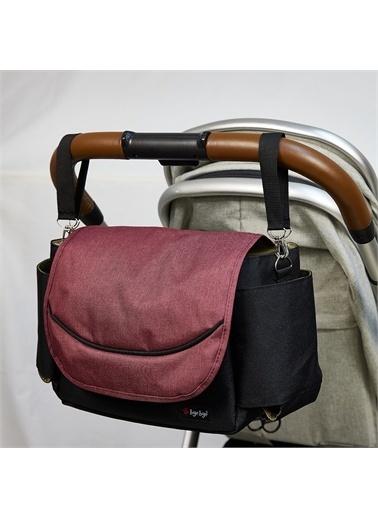 Bye Bye Stroller Bag Düzenleyici Çanta Bordo
